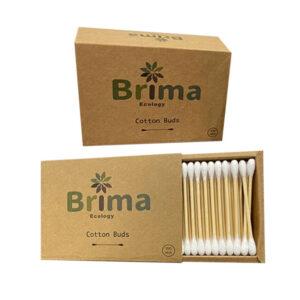 Hisopos de bambú (200 unidades)